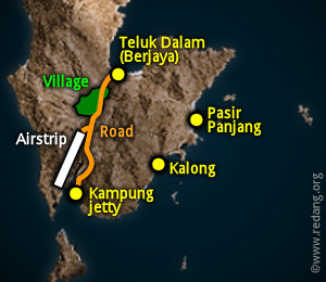 redang map